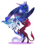famosity original_character princess_luna tempest_shadow