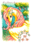 cassiefrese fluttershy the_last_unicorn