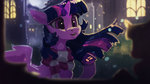 hierozaki highres princess_twilight scarf twilight_sparkle