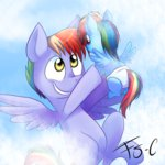 cloud diaper filly fj-c parents rainbow_dad rainbow_dash