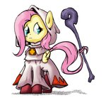 final_fantasy fluttershy nun2artzy robe staff