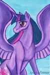 highres princess_twilight sparkleforever traditional_art twilight_sparkle