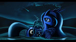 cosmicscribbles princess_luna ursa_minor water