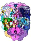 apple_bloom applejack cutie_mark cutie_mark_crusaders fluttershy highres main_six pinkie_pie princess_cadance princess_celestia princess_luna princess_twilight rainbow_dash rarity ryder-of-dragons scootaloo shining_armor sweetie_belle twilight_sparkle watermark
