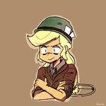 applejack bluemono friendship_is_witchcraft helmet humanized