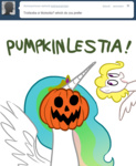 ask asksurprise g1 princess_celestia pumpkin pumpkinlestia surprise willdrawforfood1