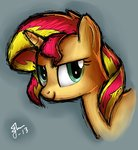 galaxyart highres portrait sunset_shimmer