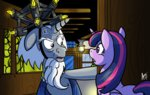 back_to_the_future cynos-zilla princess_twilight starswirl_the_bearded twilight_sparkle