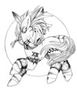 alts-art crossover final_fantasy highres traditional_art zecora