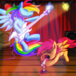 atlur band rainbow_dash scootaloo