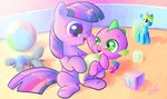 baby halem1991 spike toys twilight_sparkle