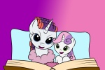 kloudmutt rarity sweetie_belle