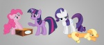 applejack cossacks drunkill magic photoshop pinkie_pie rarity soap_box twilight_sparkle