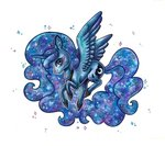 princess_luna traditional_art twixyamber