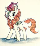 absurdres autumn_blaze highres kirin rozzyisdizzy traditional_art