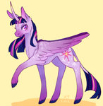 absurdres classical_unicorn highres k9core princess_twilight redesign twilight_sparkle