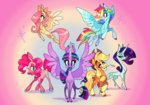 applejack fluttershy highres janegumball main_six pinkie_pie princess_twilight rainbow_dash rarity twilight_sparkle
