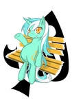 bench cutie_mark highres lyra_heartstrings transparent vector zaiyaki