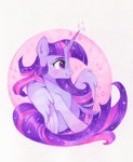 highres princess_twilight traditional_art twilight_sparkle zoliklispp
