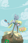 amy_mebberson comic_book derpy_hooves mail rainbow_dash