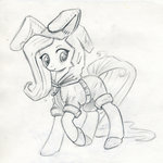 catsuit clothes fluttershy maytee traditional_art