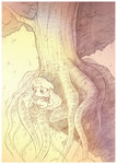 highres original_character sherwoodwhisper traditional_art tree