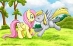derpy_hooves fluttershy rinacat
