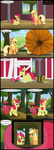 apple_bloom applejack apples comic grown_up highres pumpkin sweet_apple_acres toxic-mario