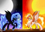 absurdres daybreaker greenflyart highres nightmare_moon
