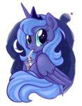 coffee highres princess_luna young zoithedragon