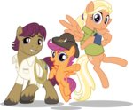 absurdres highres jhayarr23 mane_allgood scootaloo snap_shutter vector