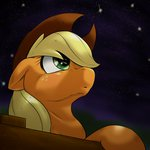 applejack behind-space