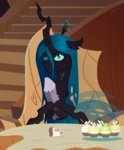 cake highres queen_chrysalis silverstbrony