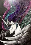 benwhoski princess_celestia traditional_art