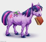 book spike twilight_sparkle zazush_una