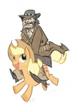 applejack crossover john_marston modern-warmare red_dead_redemption