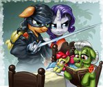 apple_bloom applejack granny_smith harwick rarijack-daily rarity the_princess_bride