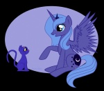 azure_glow cat crossover princess_luna sailor_moon