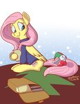 angel astarothathros costume cup fluttershy highres sweater