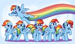 glasses highres lyricbrony manecut rainbow_dash