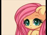 animated black_bars fluttershy lowres reeane