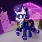 costume highres power_ponies radiance rarity whazzam95