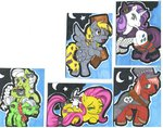 angel big_macintosh costume derpy_hooves fluttershy granny_smith nightmare_night rarity skypinpony