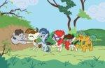 background_ponies featherweight parody pipsqueak shinjitoo snailsquirm teacher's_pet twist winnie_the_pooh