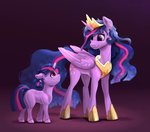 filly highres princess_twilight rysunkowasucharia twilight_sparkle