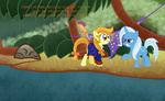 crossover fetchbeer guybrush_threepwood highres monkey_island parrot ponified scootaloo scootaparrot species_swap the_great_and_powerful_trixie