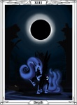 highres nightmare_moon spectralunicorn tarot