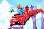 absurdres highres rainbow_dash rollercoaster tank thefloatingtree