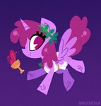 alicorn background_ponies berry_punch highres spacekitsch