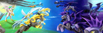 guard_pony highres night_guard nightmare_moon princess_celestia shadowbolts slifertheskydragon wonderbolts